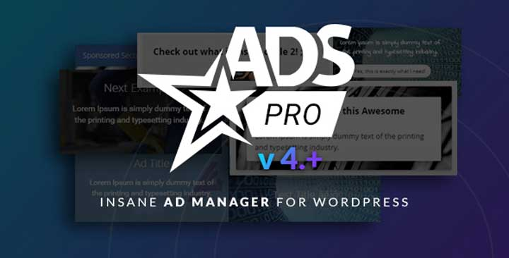 ADS PRO - Multipurpose Ads Manager