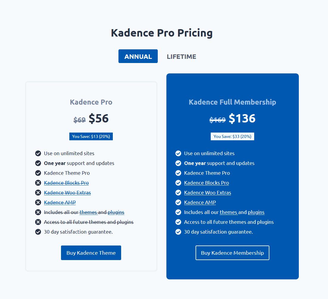 Premium Kadence Theme